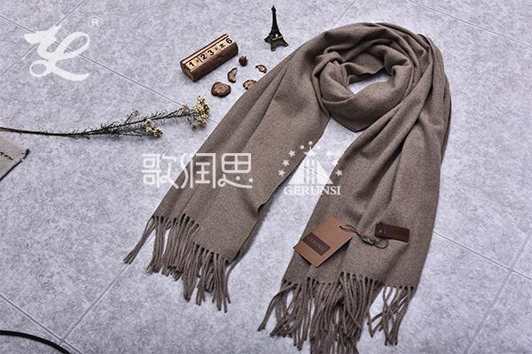 300克夹花围巾(摩卡长保暖围巾)